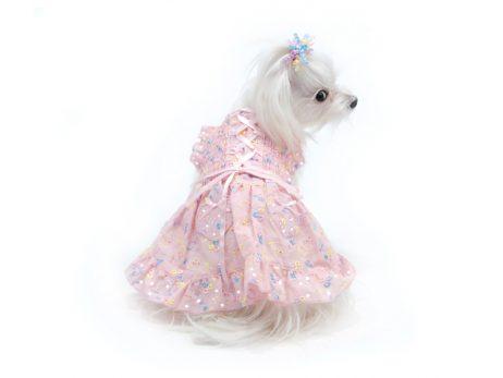 Hearts & Tarts Corsette Hand-Smocked Dress