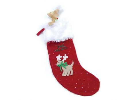 Naughty or Nice Reindeer Stocking V1