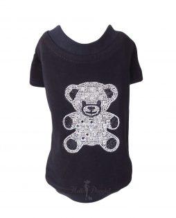 Teddy Bear Sleeved Tee Black 2