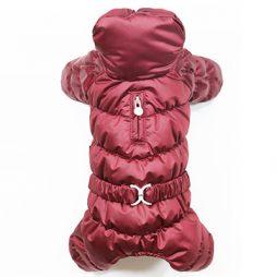 Puppy Angel Padded Bodysuit raspberry